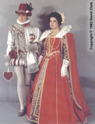 Adrian Butterfield & Victoria Ridenour