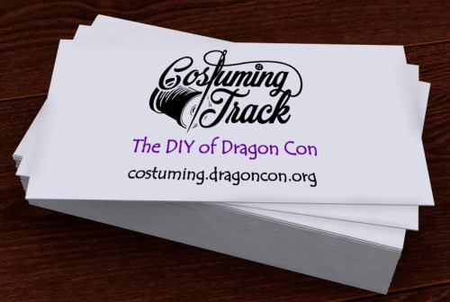 Costuming Business Card