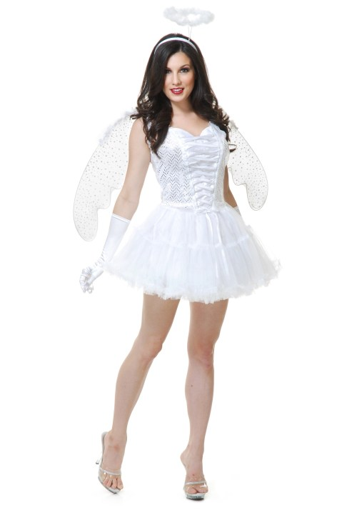 Medium Of Angel Halloween Costume