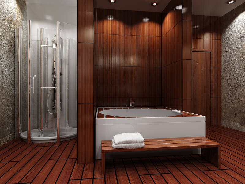 Holz Bad Is Wood Flooring In The Bathroom A Good Idea? | Coswick.com