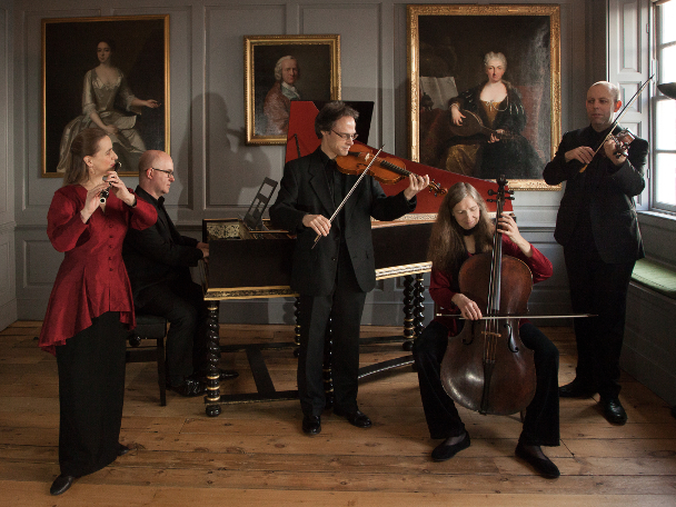 London Handel Players with Baroque Dancers Mary Collins and Steve Player