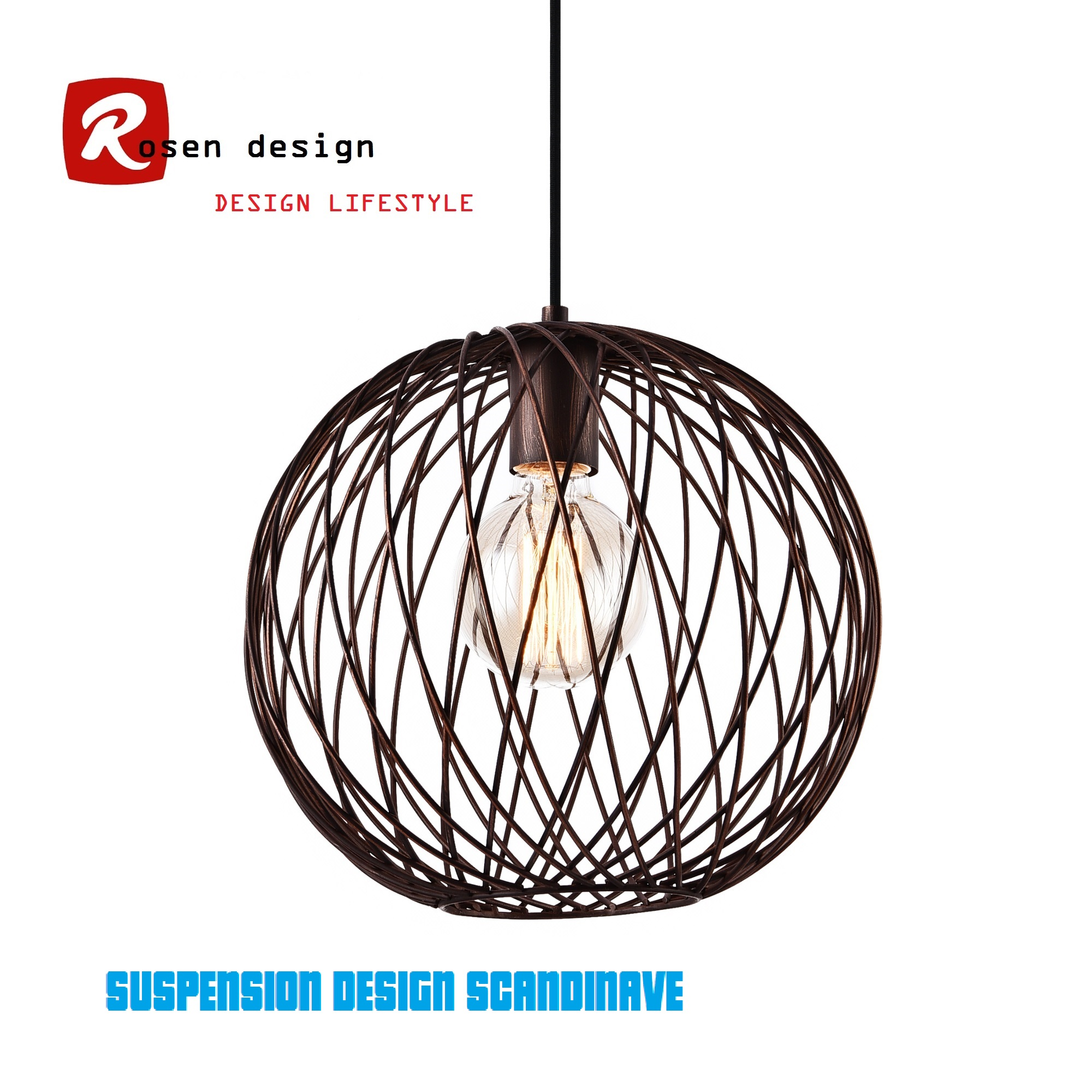 Suspension Design Pdf Ensemble De 2 Suspensions Design Vintage Chic En Metal