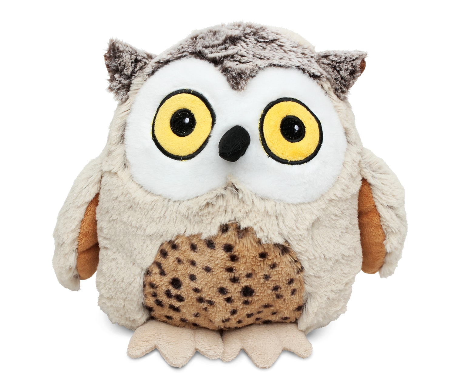 Stuff Owl Super Soft Plush Sitting Grey Wolf Xl