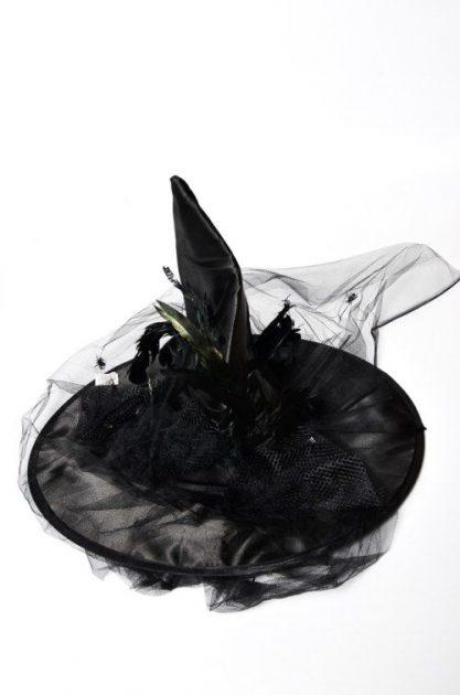 Sombrero Bruja con tull