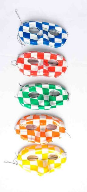 Antifaces Plasticos Surtidos x 10u