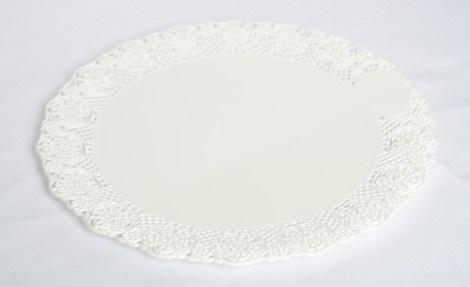 Bandeja Redonda Plastica para Torta N*30. de 23 cm de Diametro