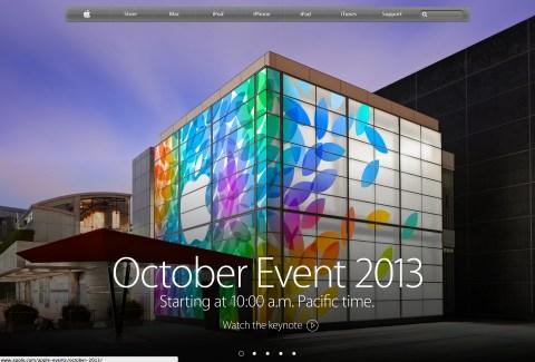 Apple - October Event 2013