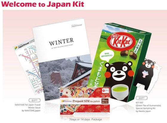 Welcome to Japan Kit