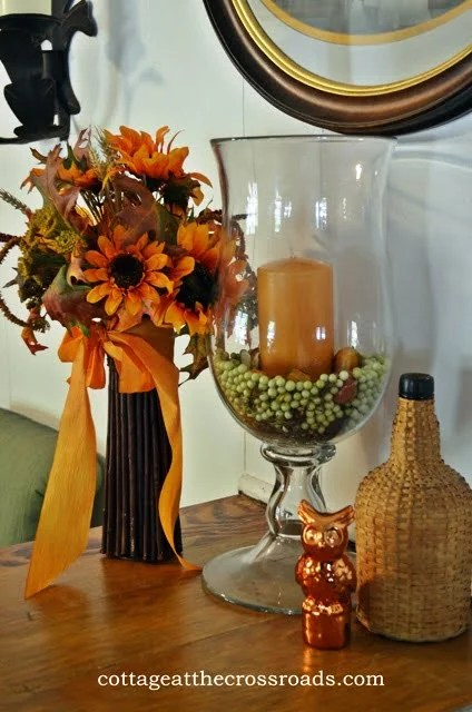 Decorating The Cottage For Fall Cottage At The Crossroads