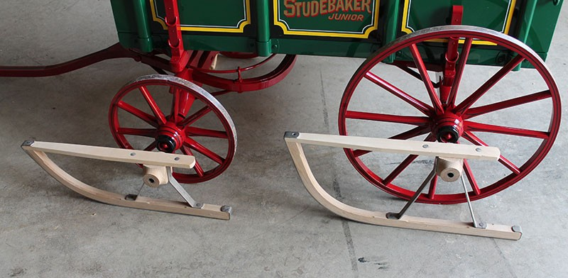 Buggy Kid Video Reproduction Old Time Studebaker Junior Kids Farm Wagon
