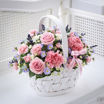 mothers day basket arrangement
