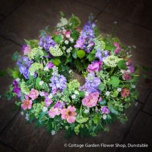 Summer Garden Wreath