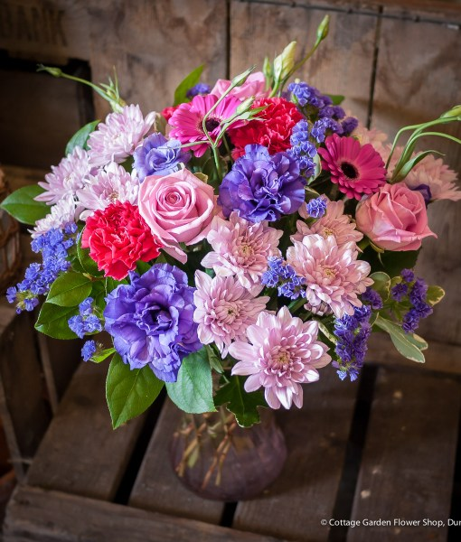 Pink & Purple Vase