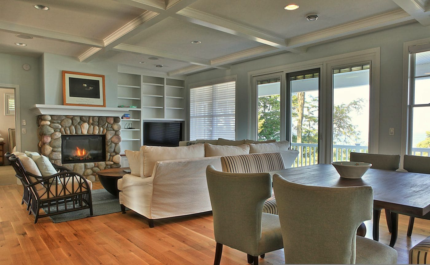 Home Deocrating Ideas Beach House Interior Finishes, Lake Michigan Custom Beach