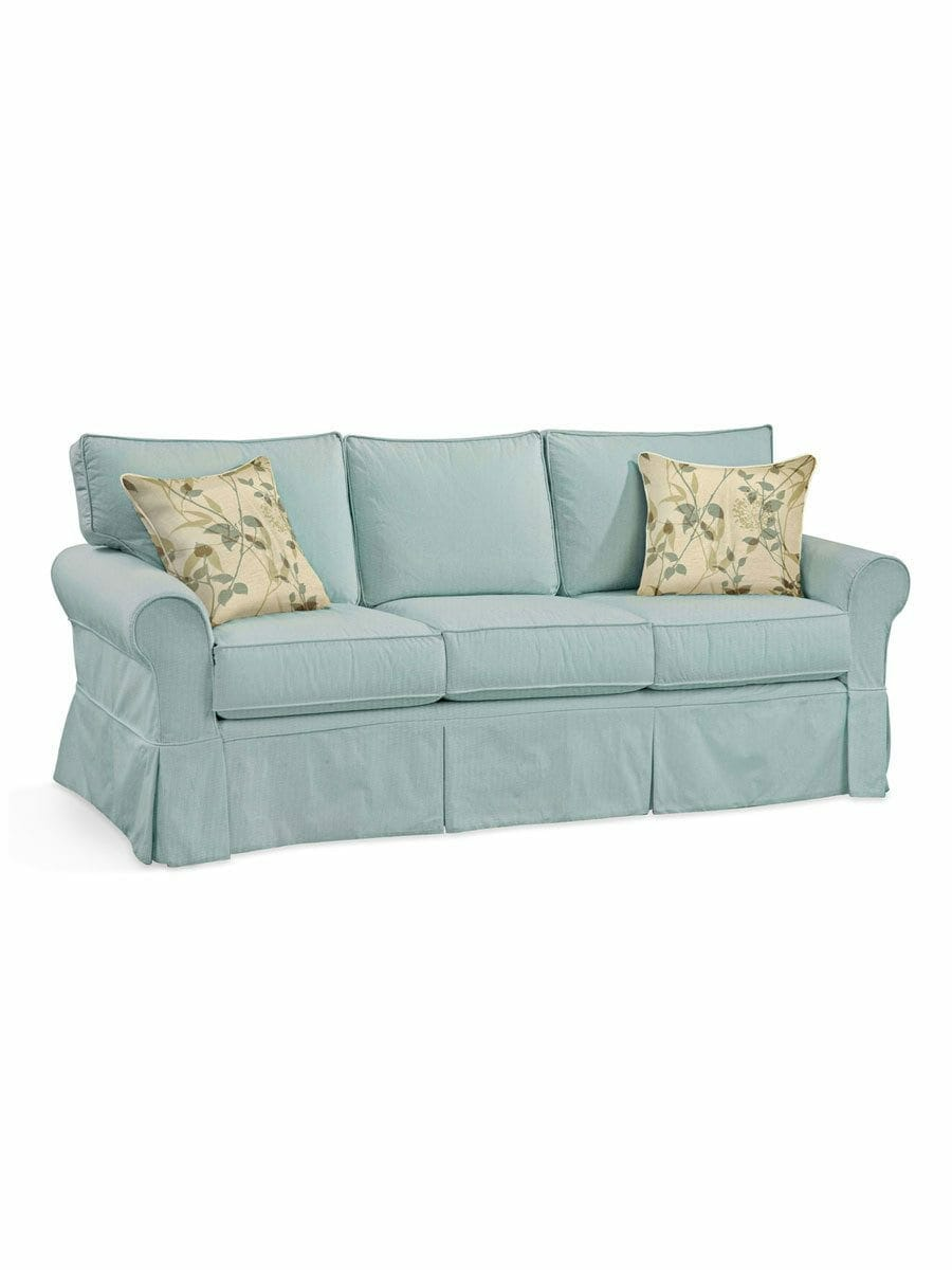 Focus On Furniture Sofa Bed Camden Slipcovered Sofa