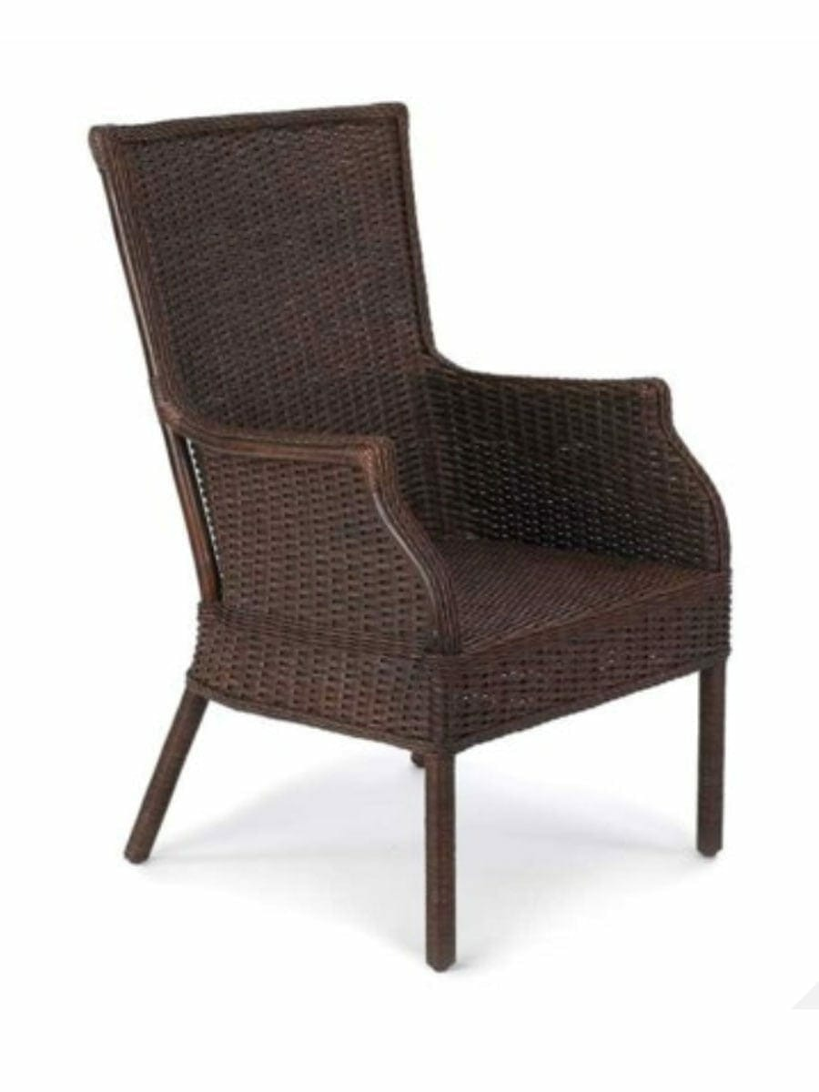 Rattan Rollo Puget Sound Wicker Club Chair Cottage Home