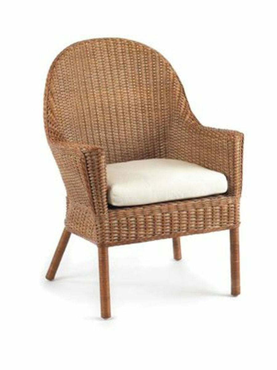 Rattan Rollo Puget Sound Wicker Student Chair Cottage Home