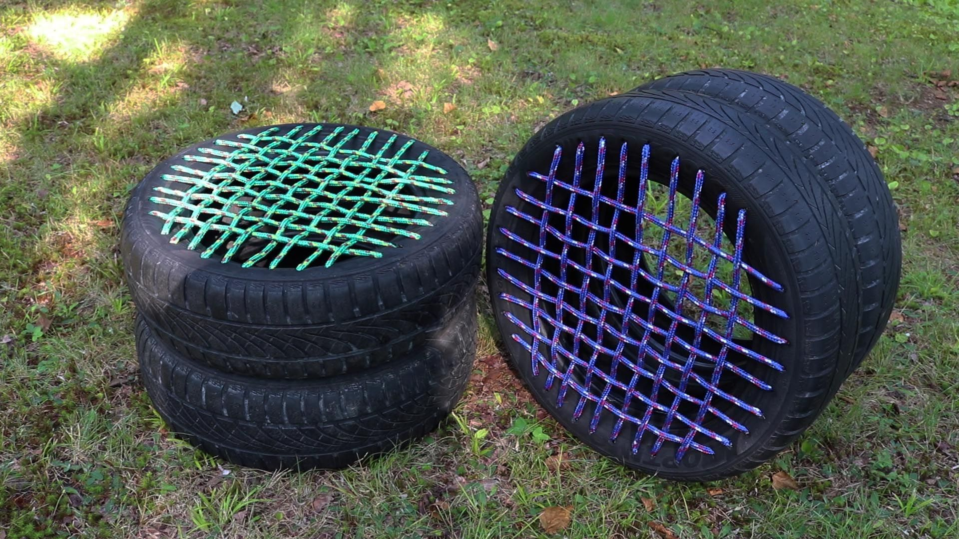 Repurpose Old Tires For Cheap Extra Seating With These Diy Tire Seats Cottage Life