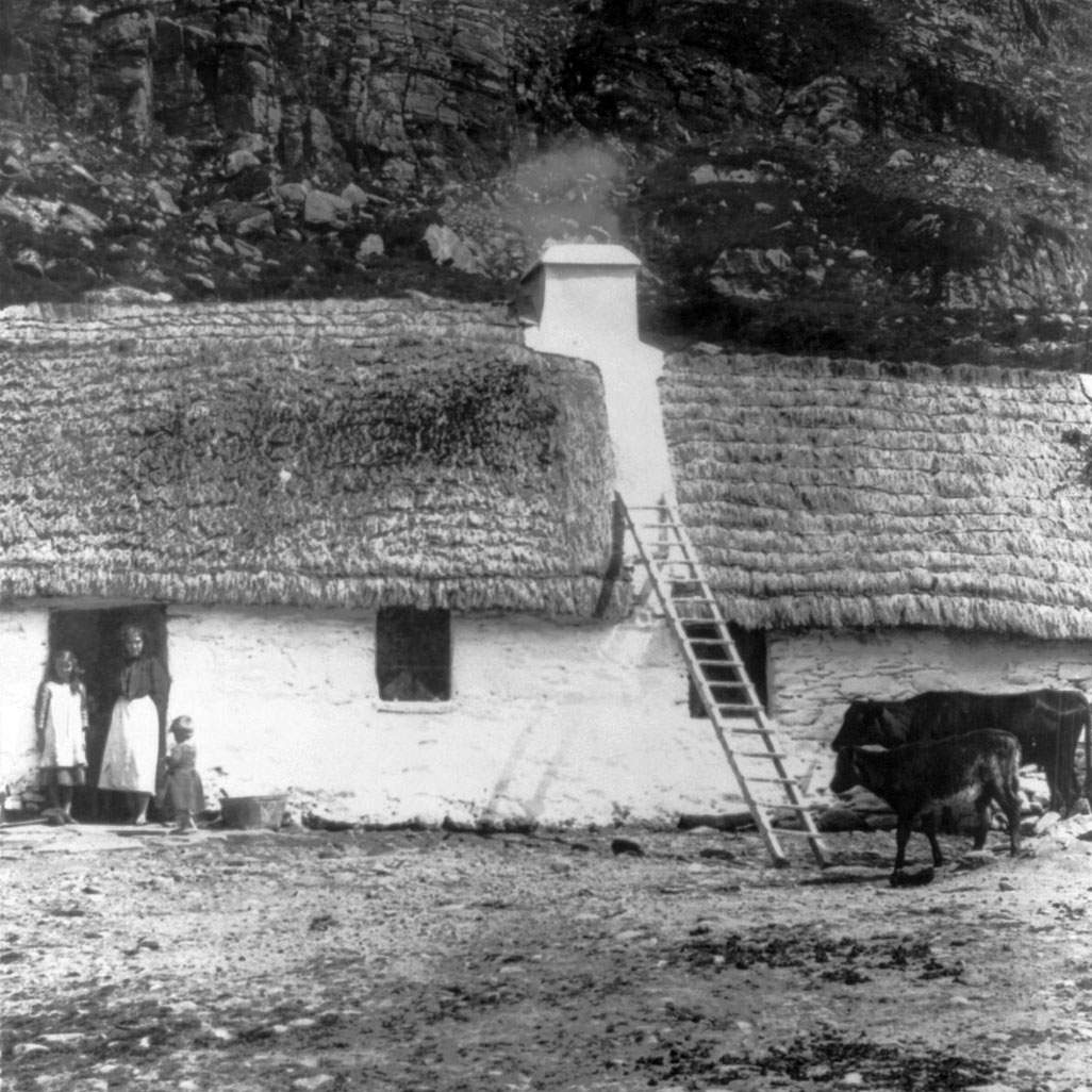 Irish Stone Houses Irish Cottage History What Are Irish Cottages Cottageology
