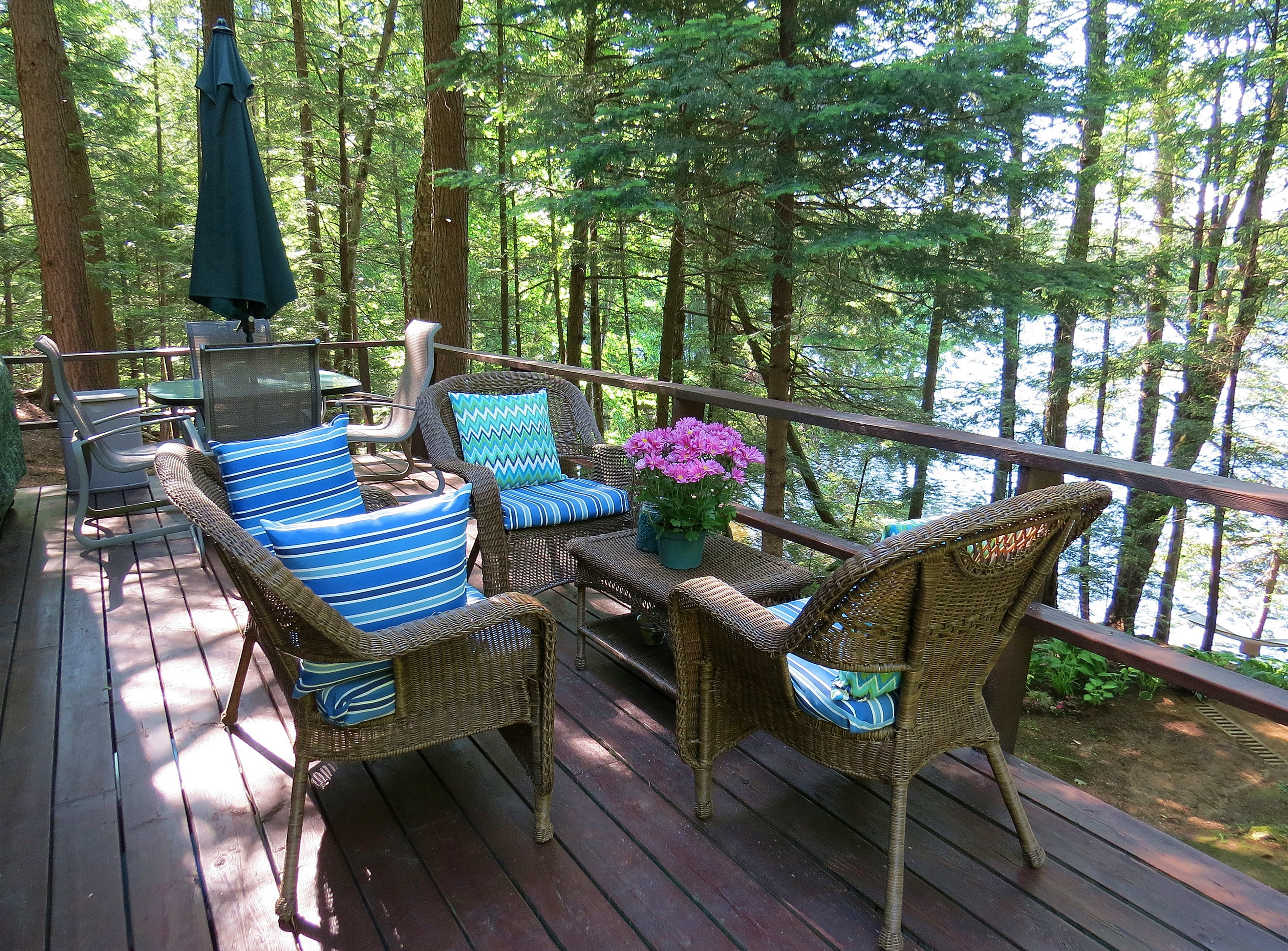 Cottage 353 For Rent On Bigwind Lake Near Bracebridge In District Of Muskoka Ontario - Garden Furniture Clearance Tickled Trout