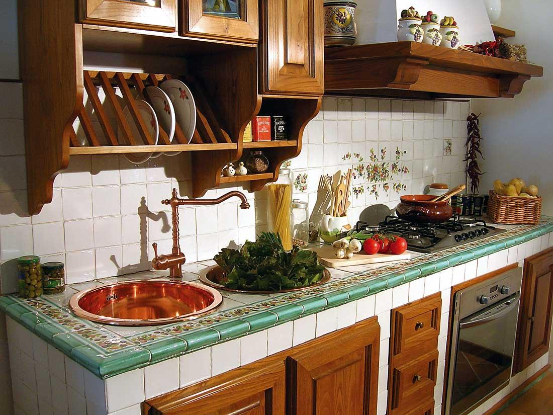 Piastrelle cotto nettuno piastrelle cucina rosse immagine with