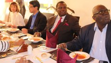 Bro. Atwoli Hosts Trade Unionists Delegates of TICAD at his Ildamat Home