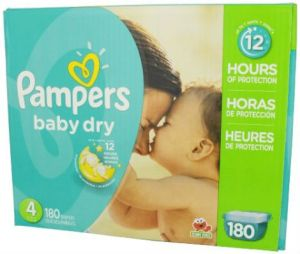 Couches Pampers Baby Dry Taille 4