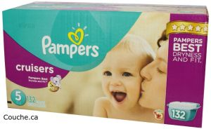 Couches Pampers Cruisers Taille 5