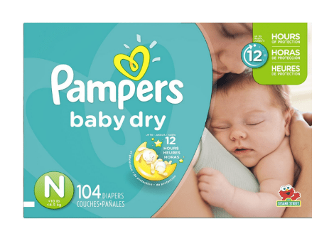 Couches pampers baby dry taille n - Couches pampers baby dry ...