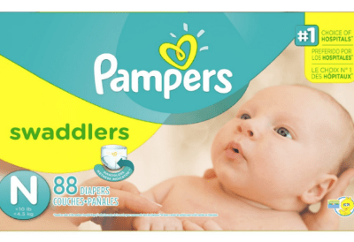 Couches Pampers Swaddlers taille N