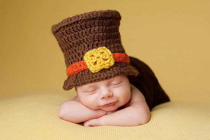 un bébé déguisé trop cute