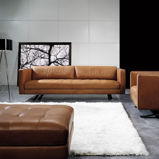 Corner Sofas In Leather Or Fabric Styles