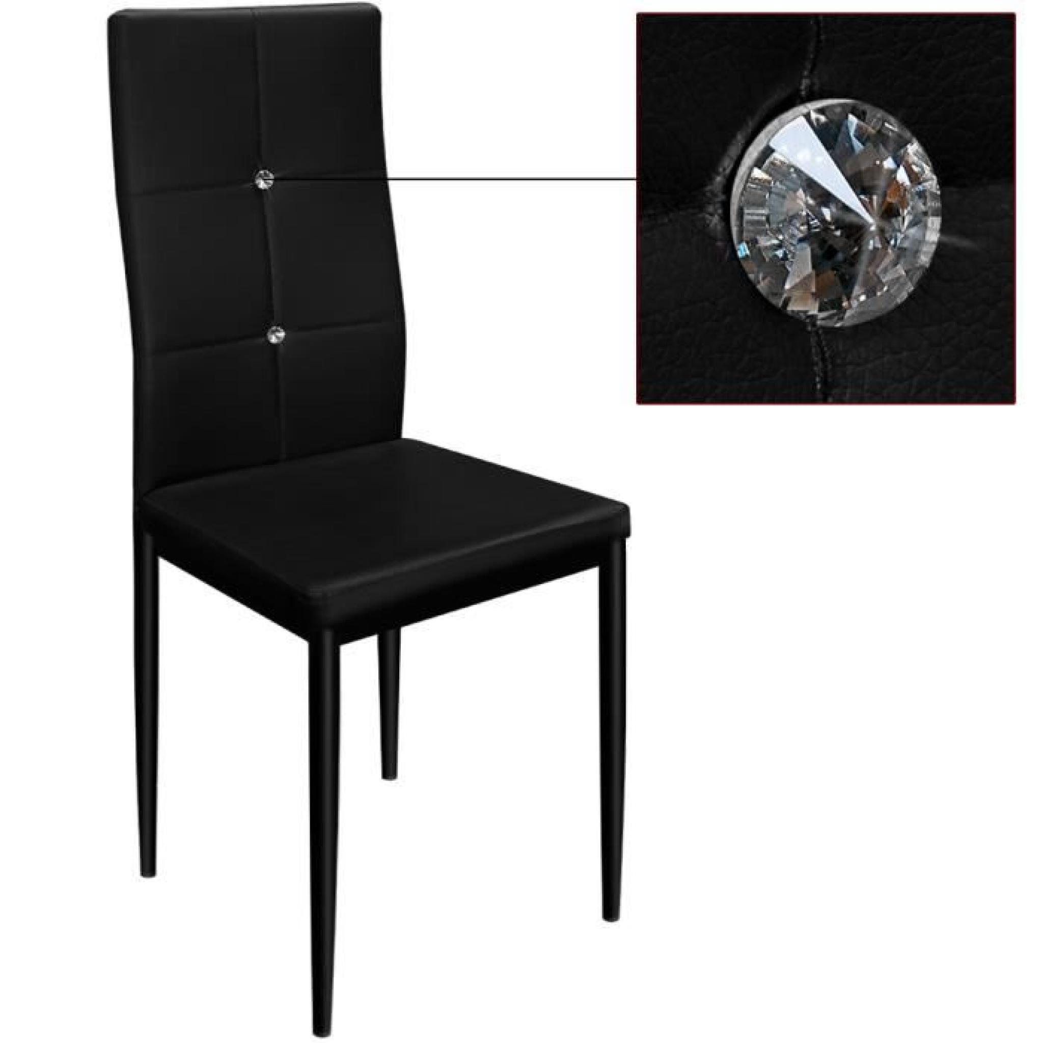 Chaises Medaillon Noires Chaise Strass | Spartakiev