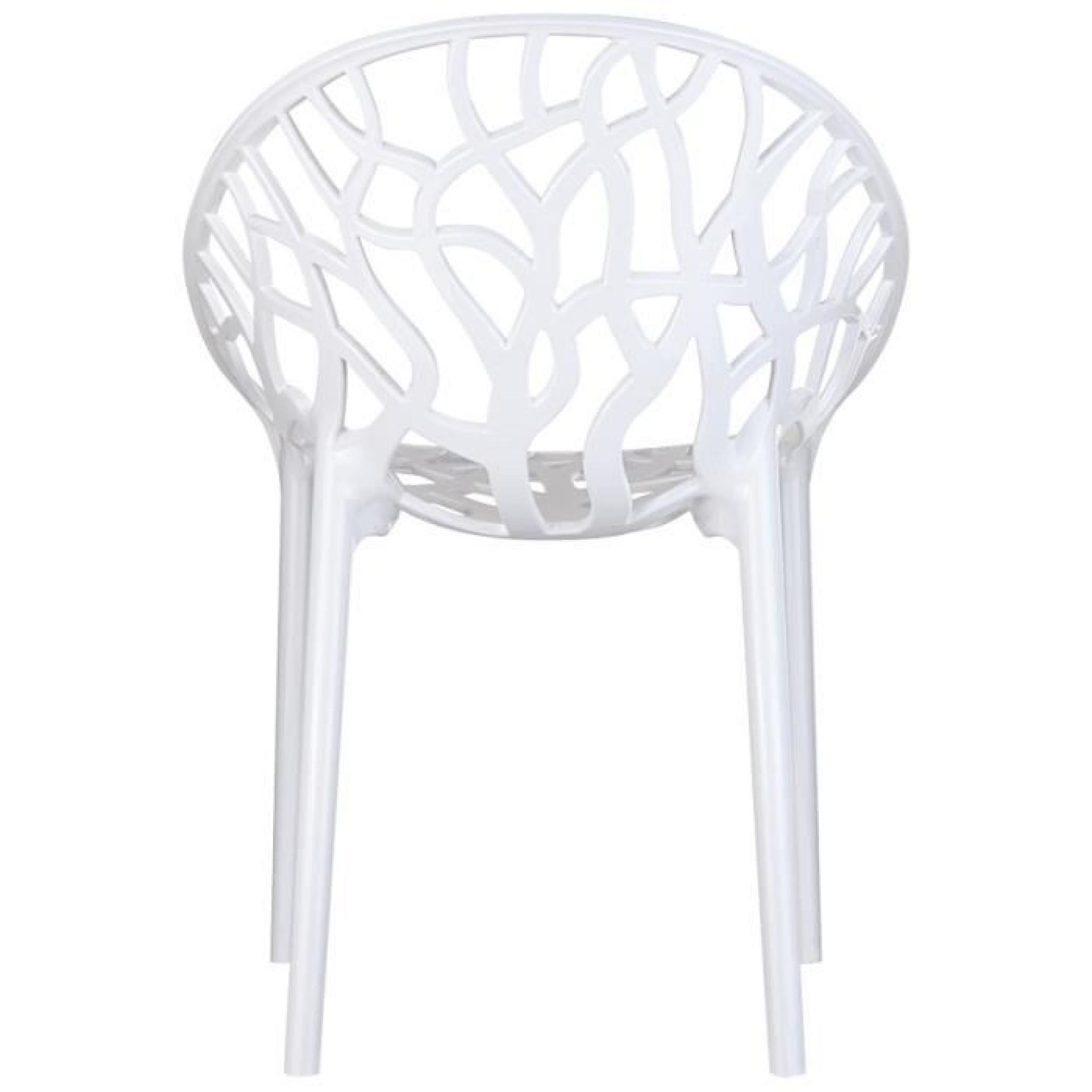 Chaises Blanches Modernes Chaise Blanche Moderne Chaise Blanche Et Bois Clair
