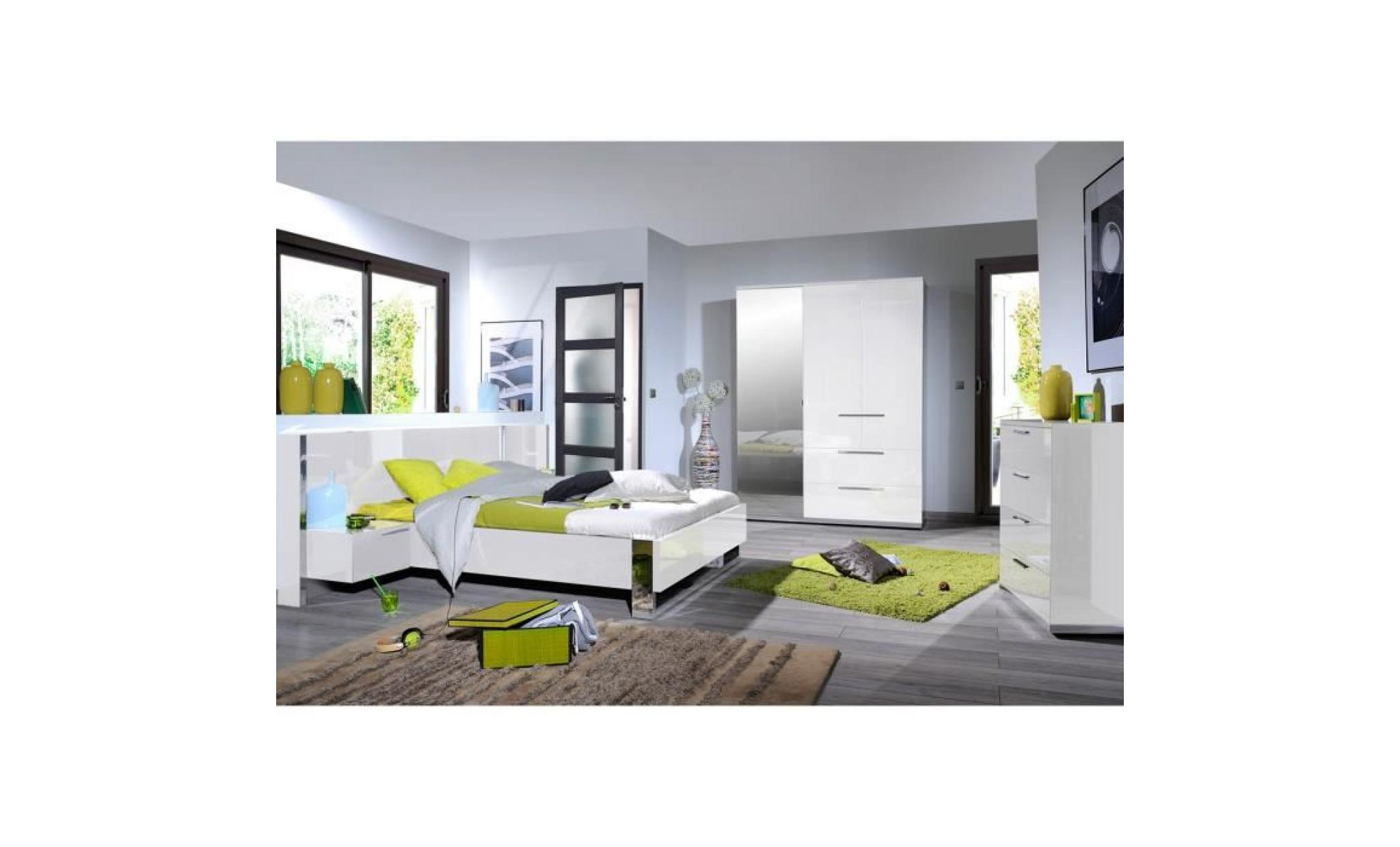 Chambre Adulte Chambre Adulte Complète 160 200 Sunny N4