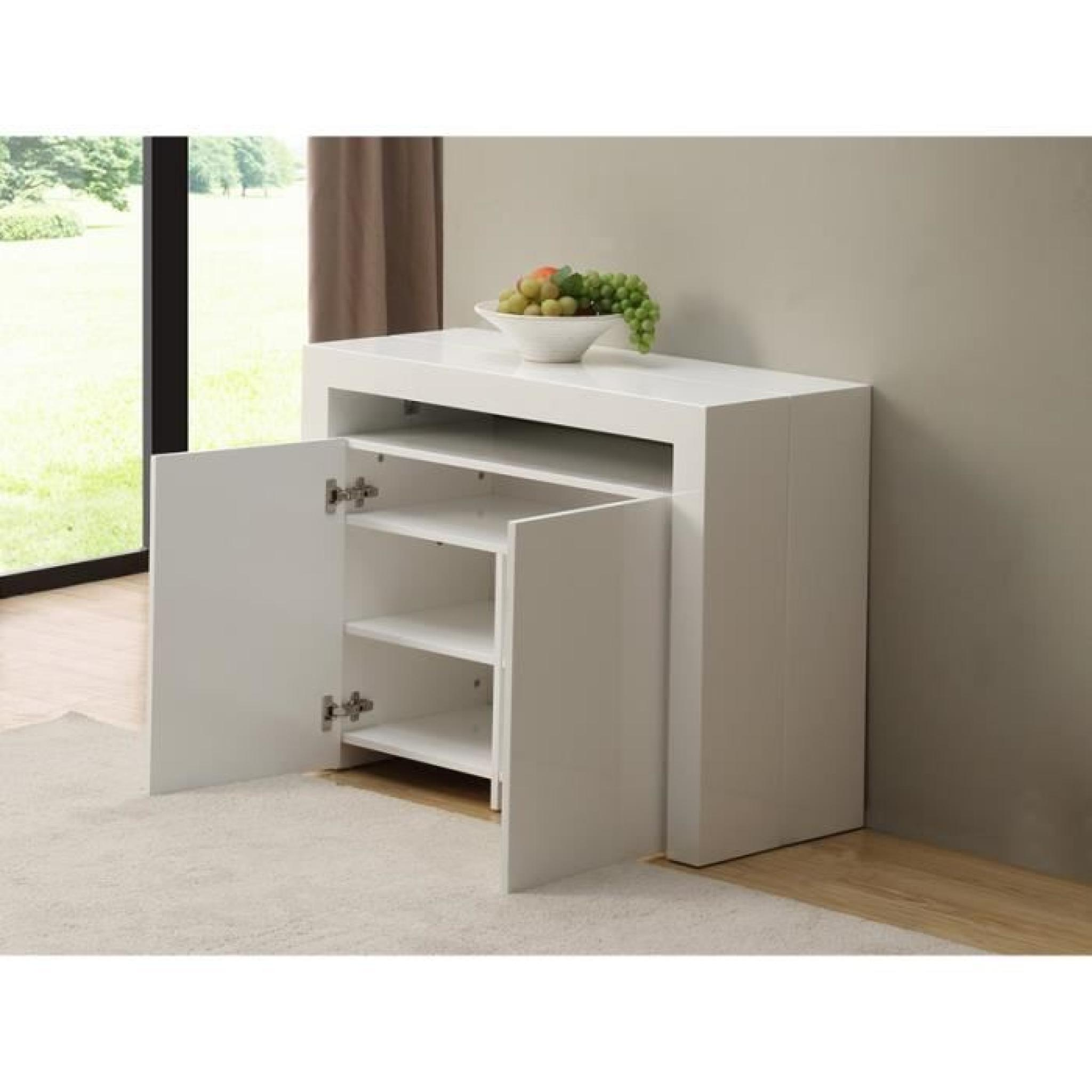 Console Rallonge Console Buffet Extensible StratÈge 3 Rallonge Achat