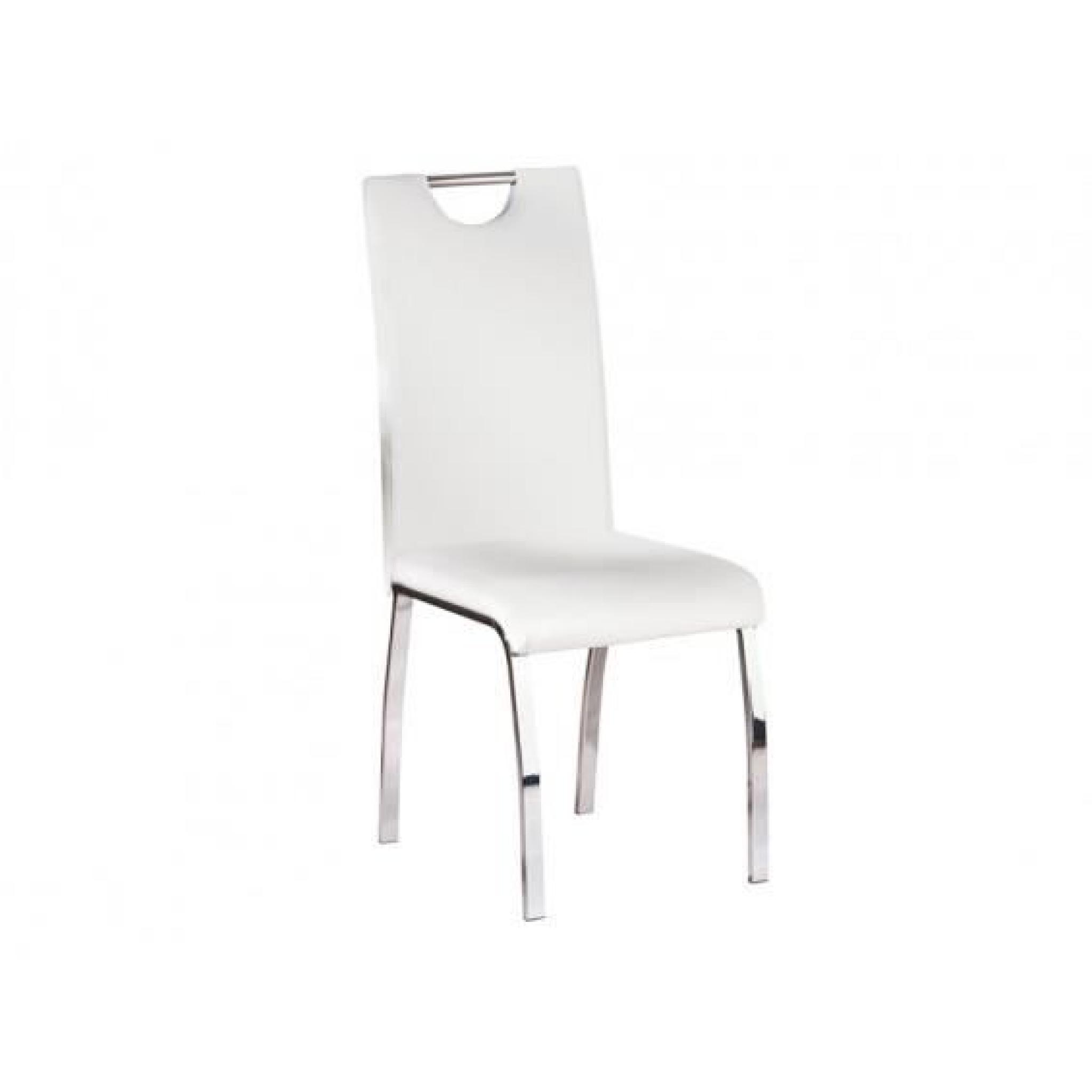 Vente Chaises Cooper Lot 4 Chaises Blanches