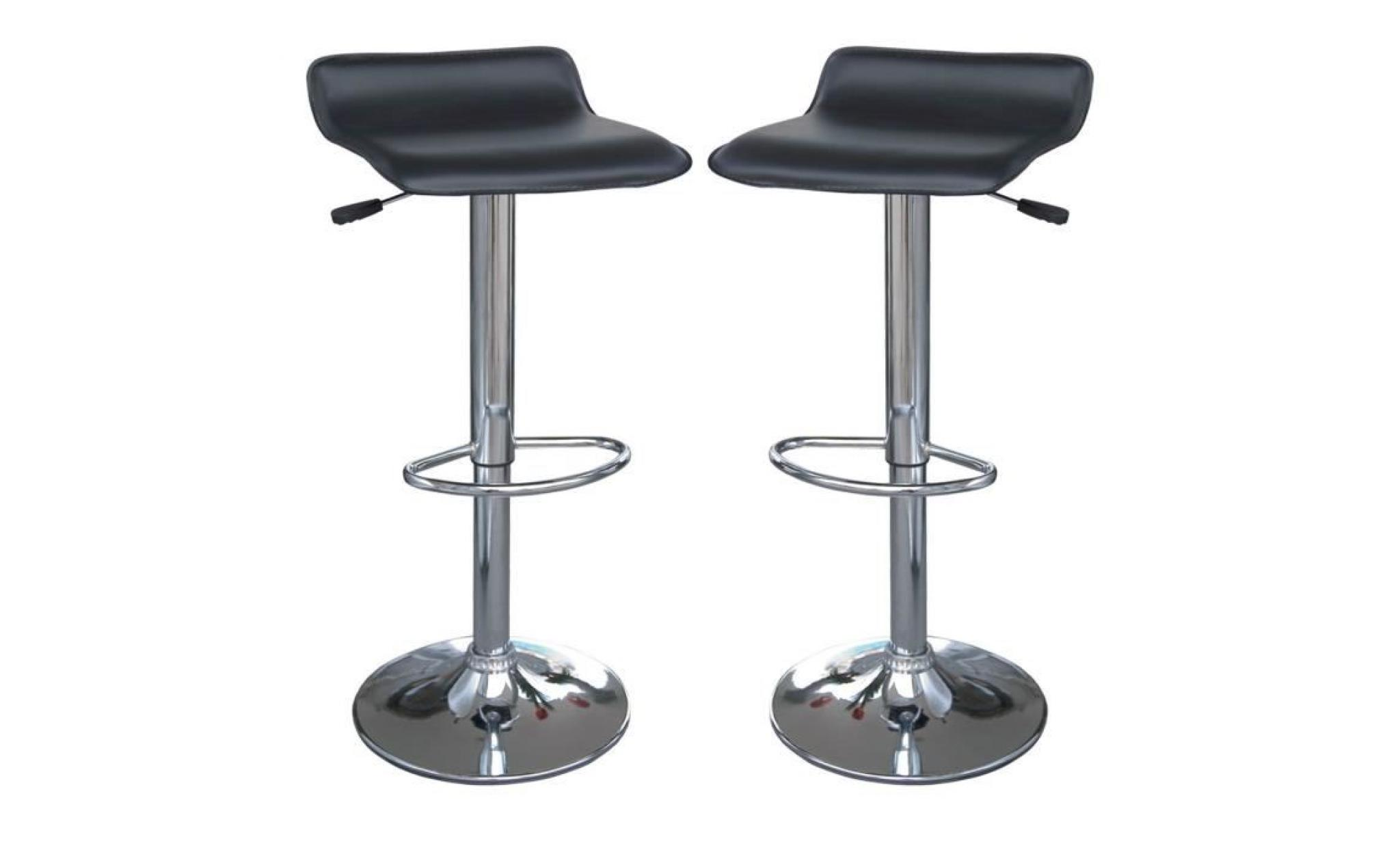 Lot De 2 Tabourets De Bar Clark Lot De 2 Tabouret De Bar Pas Cher Latest Lot De Tabourets De Bar