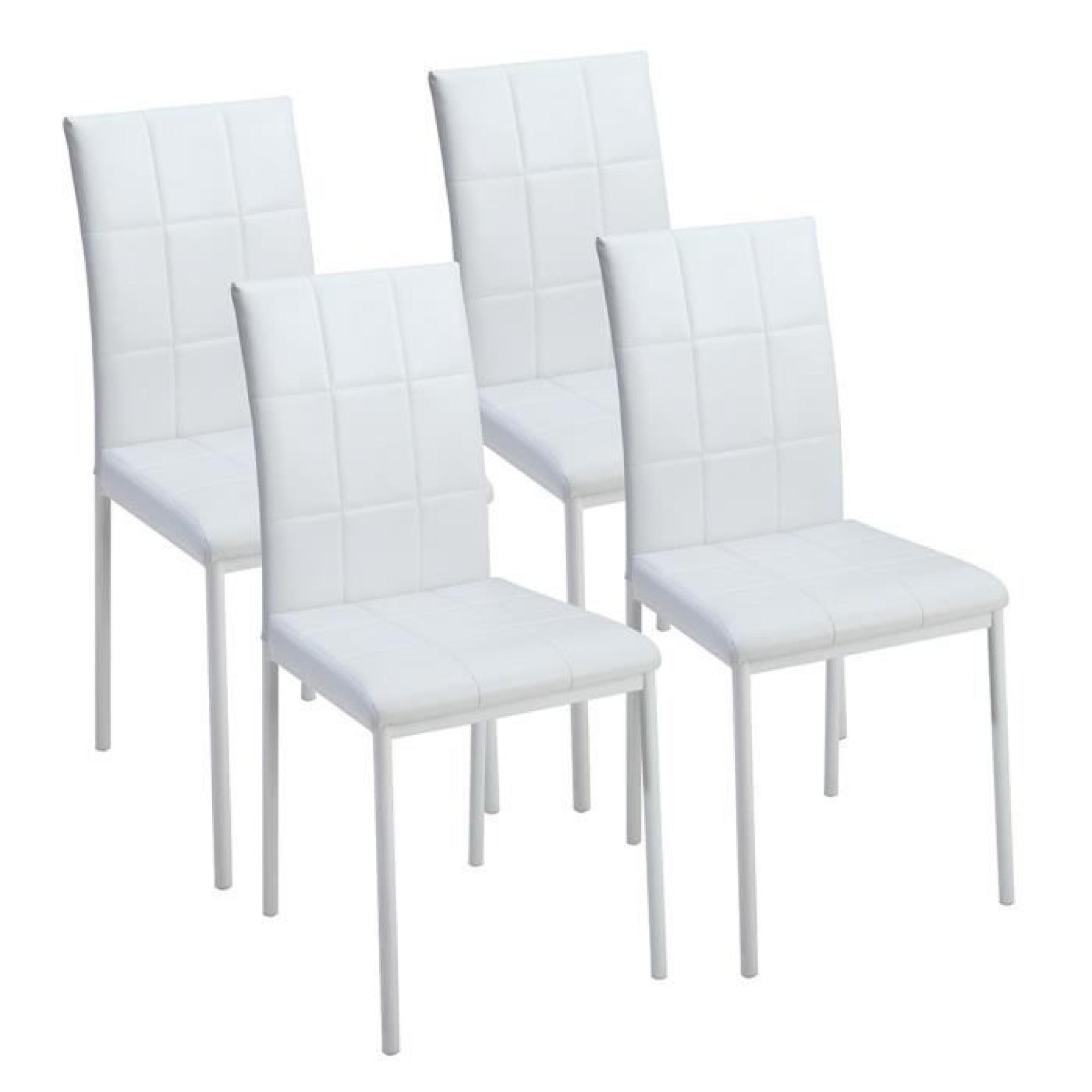 Chaises Blanches Design Salle Manger Chaises Blanches Salle à Manger Chaise Electra Laque Blanche