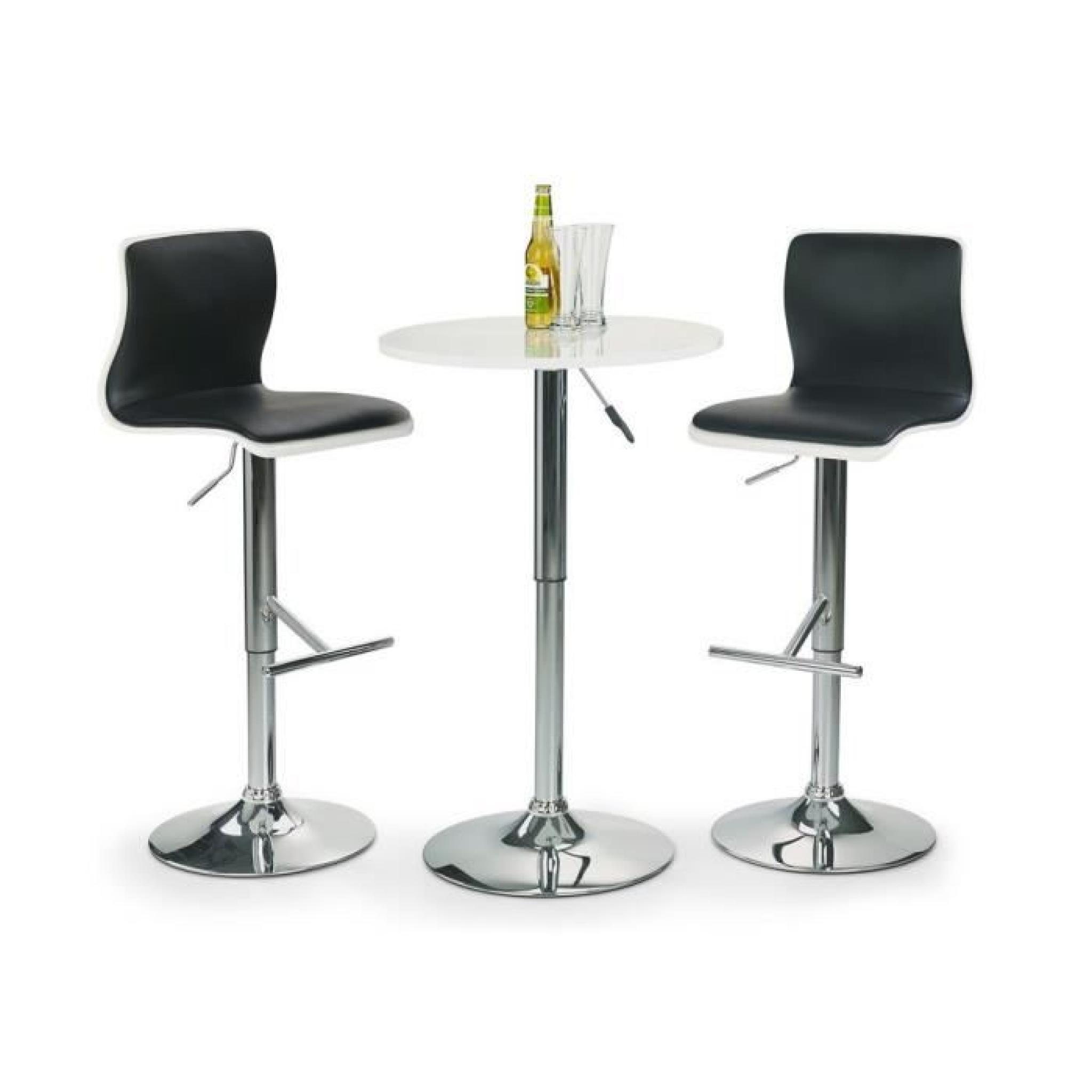 Table Bar Avec Tabourets Ensemble Bar Sb 1 Table Haute Avec 2 Tabourets De Bar H 30
