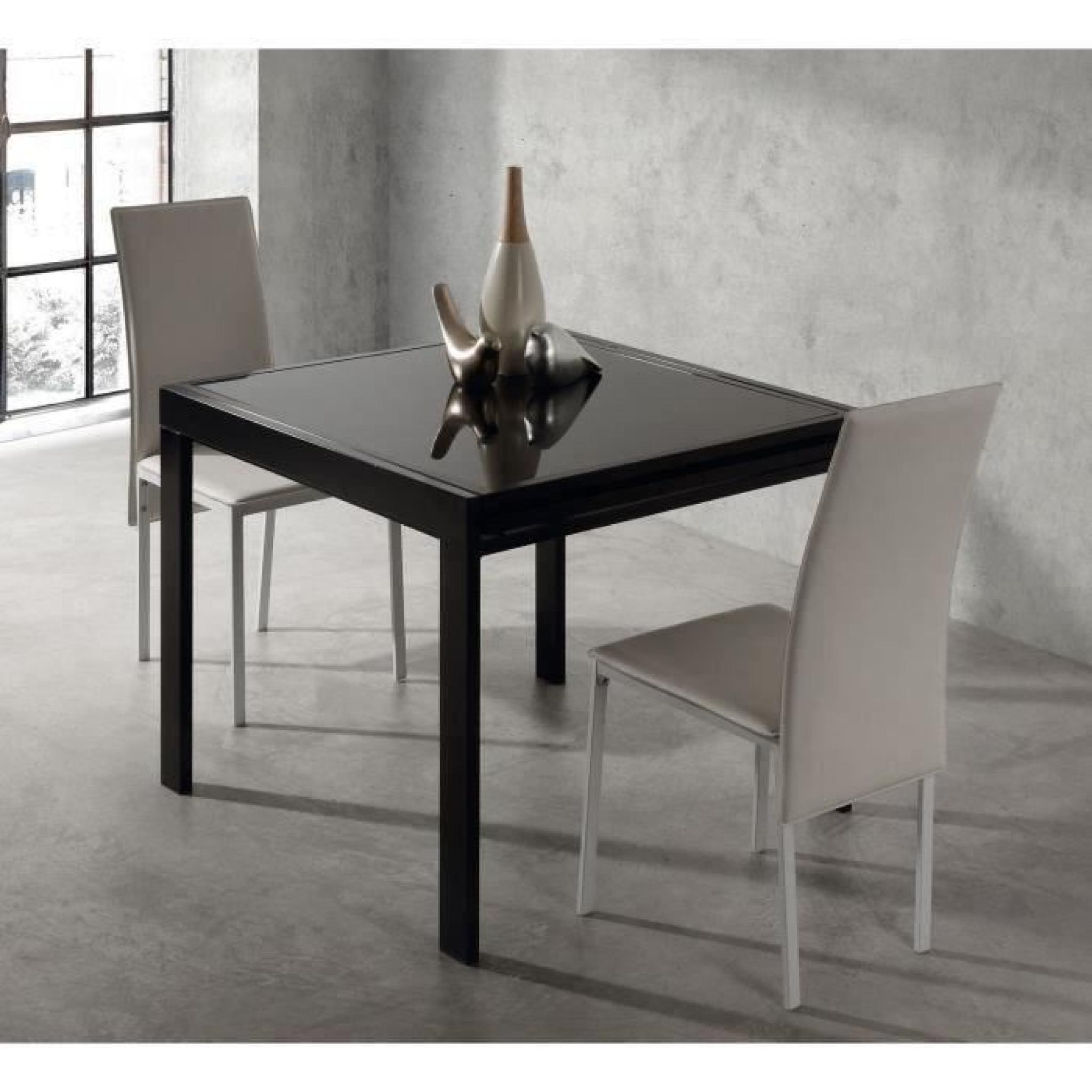 Table Ronde Extensible Noir Table Extensible Noir Stunning Table Extensible Chaises