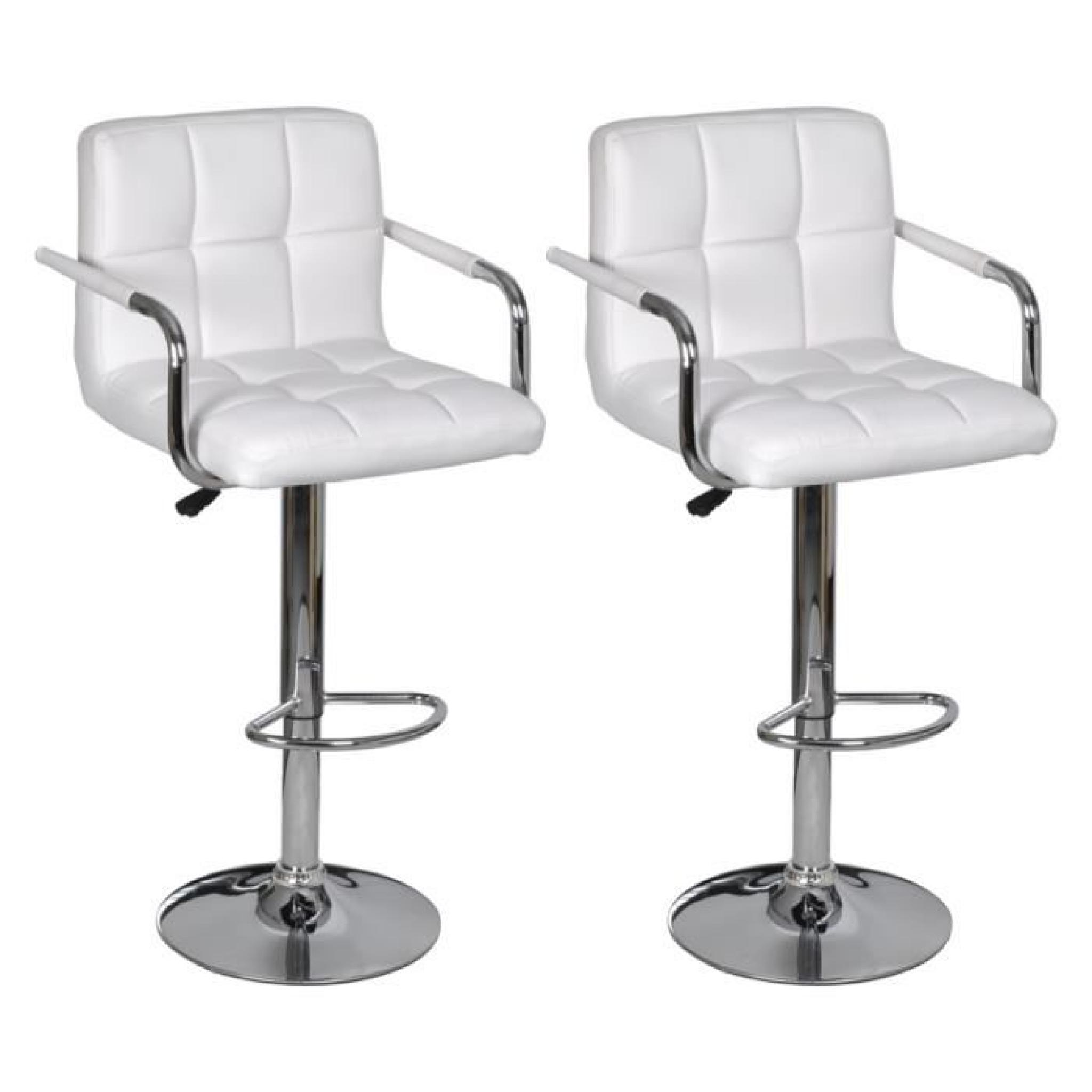 Lot De 2 Tabourets De Bar Christi Ii Lot De 2 Tabourets De Bar Pas Cher Lot De 2 Tabourets De