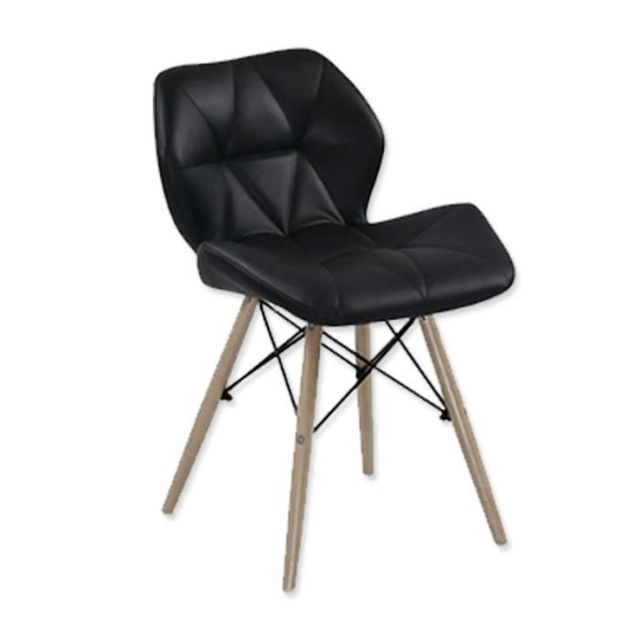 Lot De Chaises Design Lot De 4 Chaises Design Ophir Noir