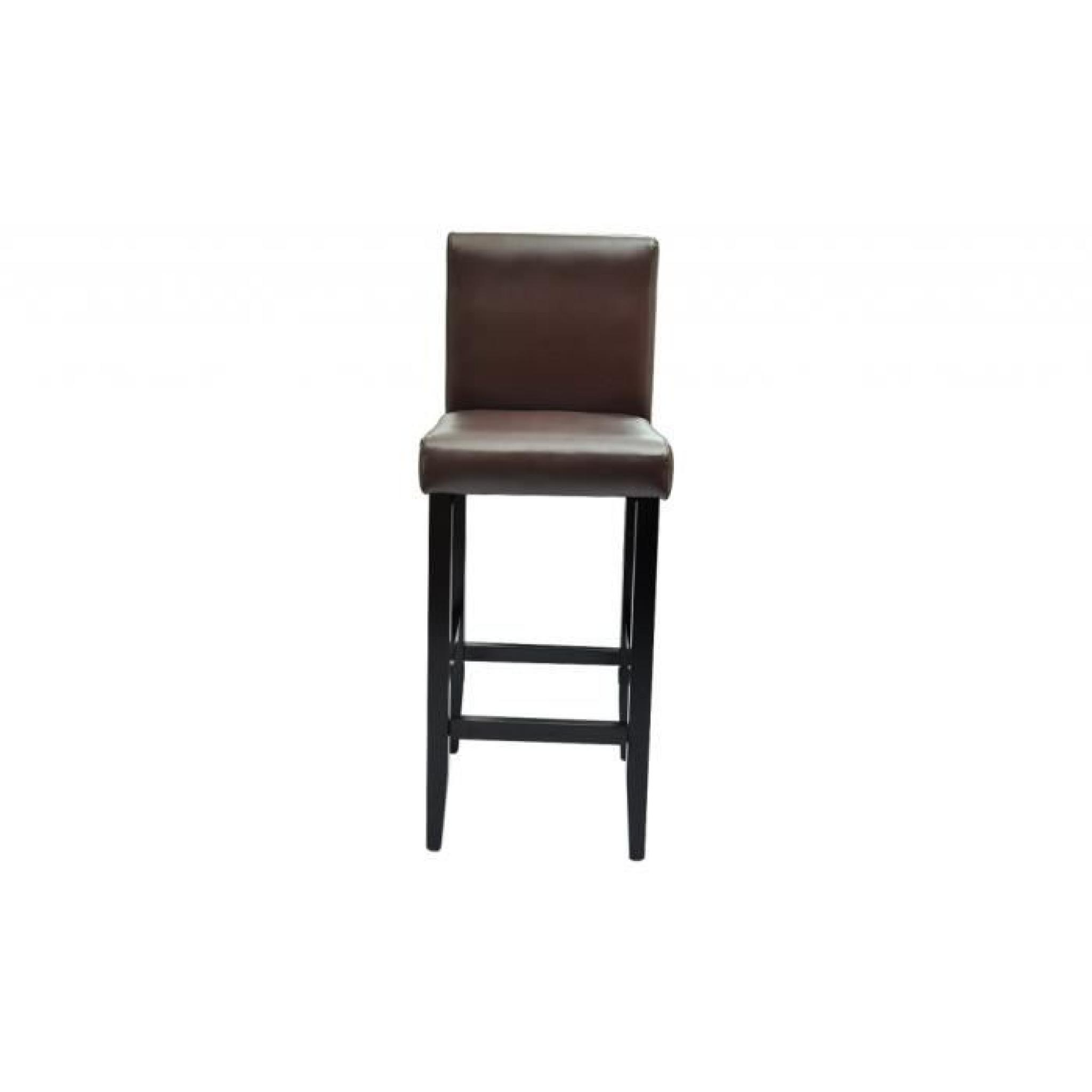 6 Tabourets De Bar Lot De 6 Tabourets De Bar Chicago Achat Vente Tabouret