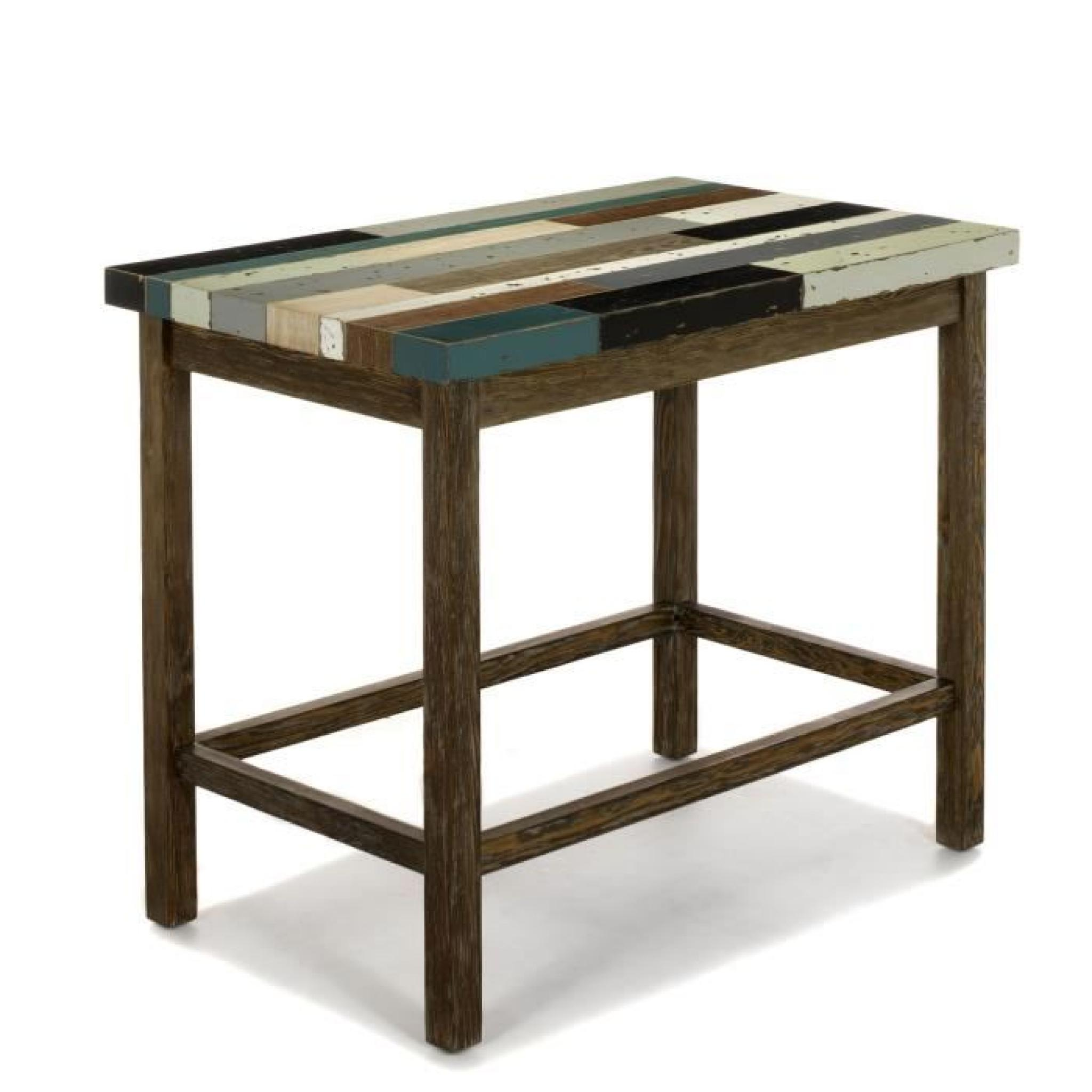 Table Haute Rectangulaire Manaka Table Haute Bar Rectangulaire Achat Vente Table