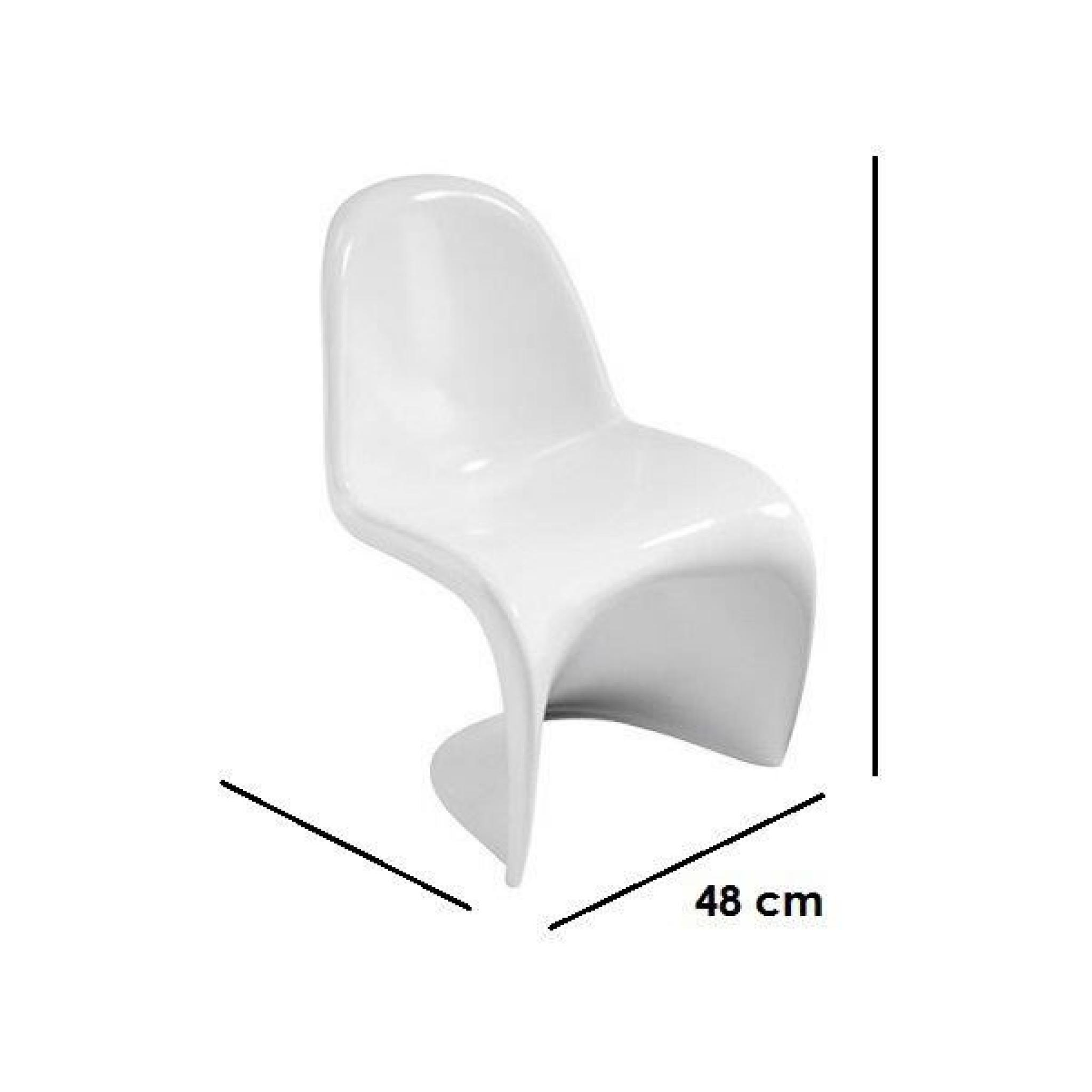 Chaises Blanches Pas Cheres Chaise Design Pas Cher Blanche Best Table With Chaise