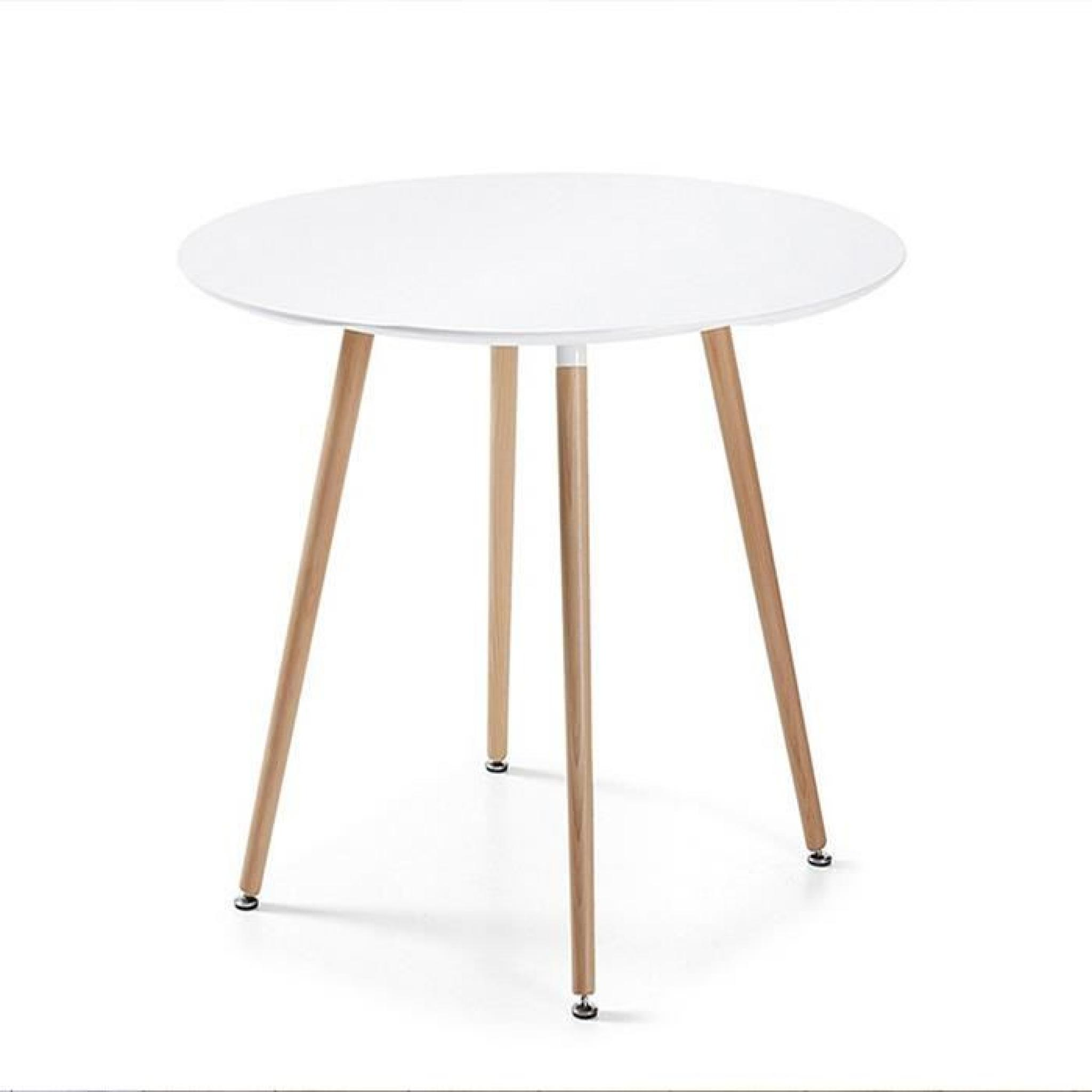 Table Salle A Manger Ronde Blanche Table à Manger Ronde Blanche Design 100cm Alta Achat