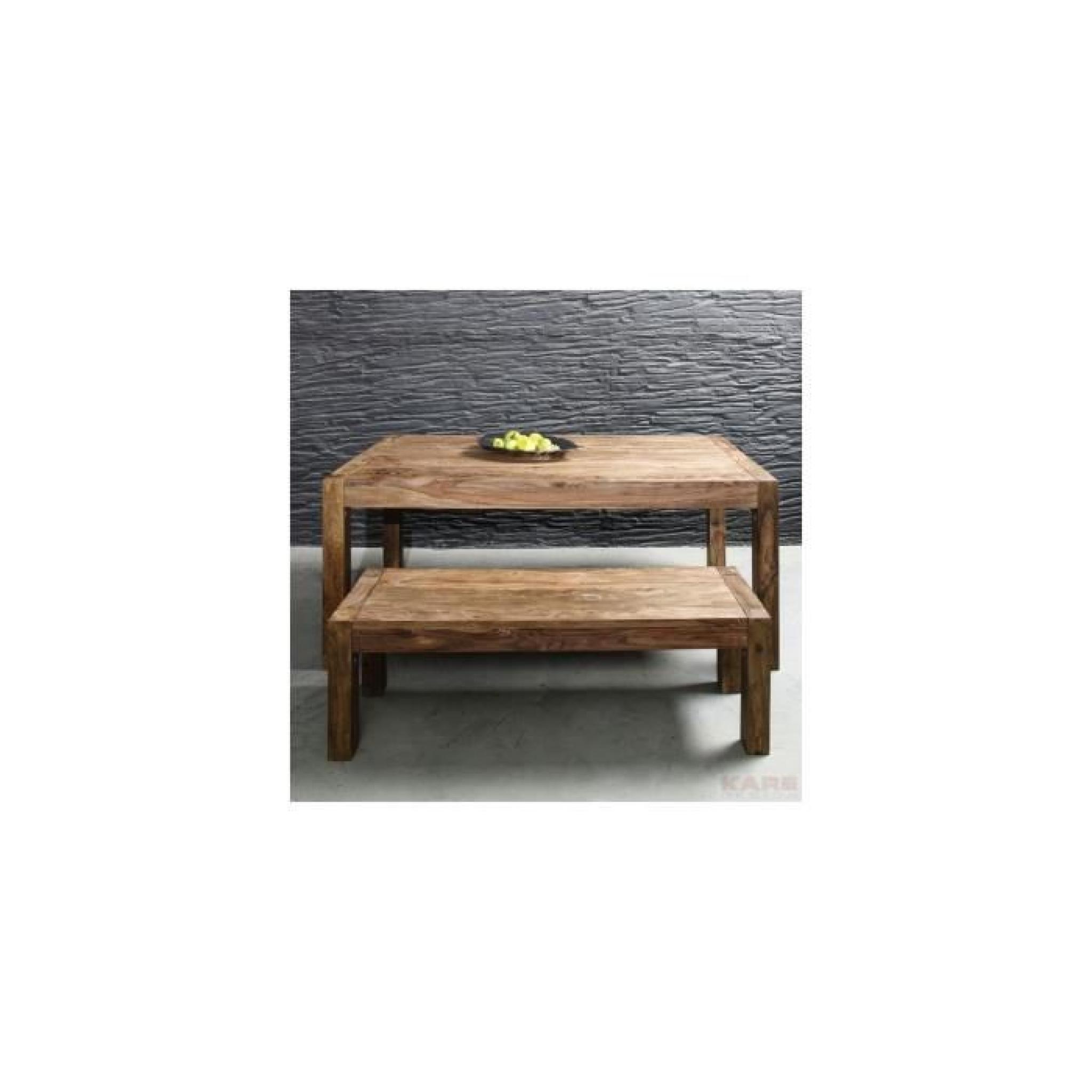 Kare Authentico Table Authentico 180x90 Kare Design Achat Vente Table Salle A