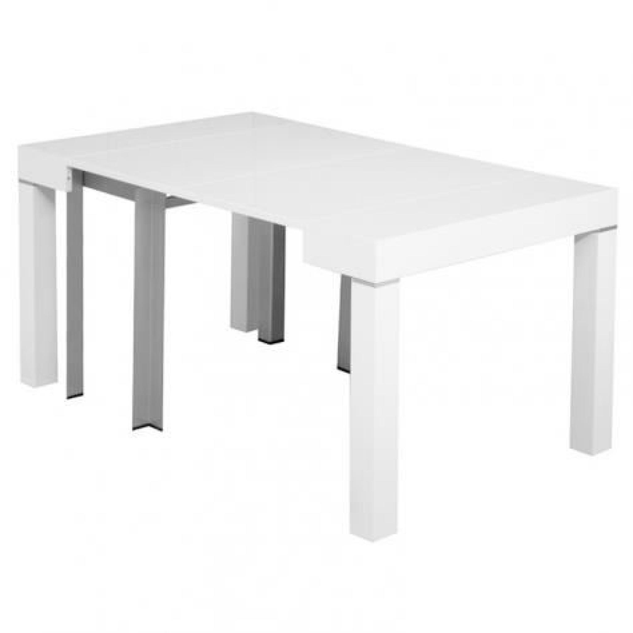 Console Extensible Blanche Console Table Rallonge Great Console Table Extensible Authentique