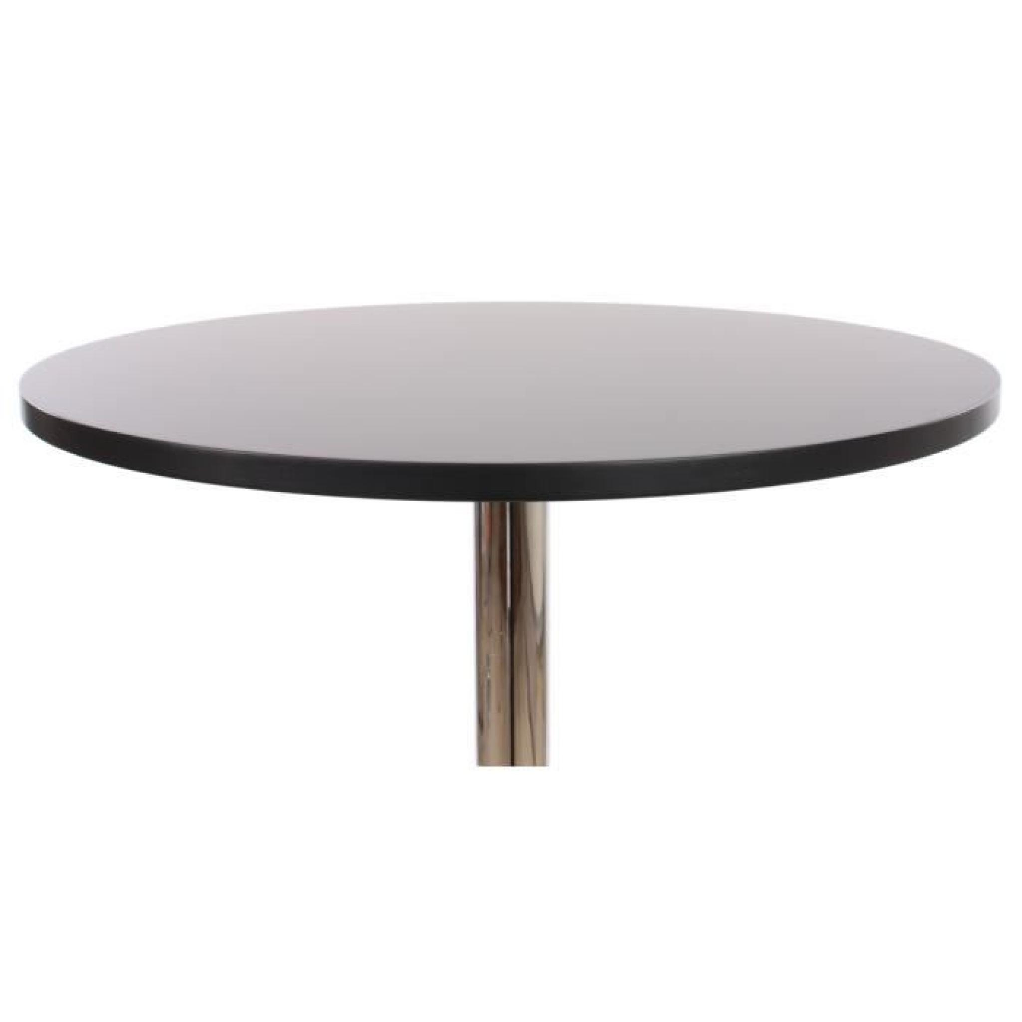Table De Bar Haute Pas Cher Table De Bar Table Haute Bari Ronde Avec Repose Pied